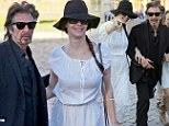 Time is on his side! Godfather Al Pacino, 72, tours the sights of Rome with gorgeous 40-years-younger girlfriend Lucila Sola