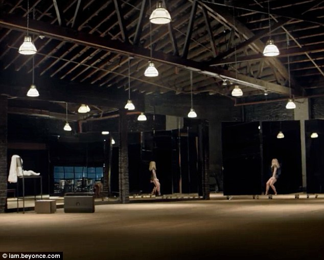 Ready to move: The star's new offering looks set to be a dance number