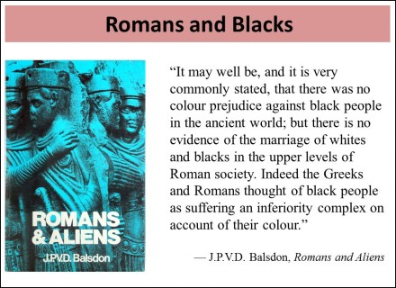 Romans and Blacks