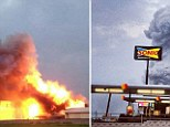 The blast at the plant in West, Texas at 7.50pm (CST) on Wednesday left fires burning as the area was evacuated amid fears of a secondary explosion