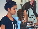 Dedication... that's what you need! Vanessa Hudgens heads to yet another gruelling Pilates reformer class