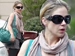 Newlywed Christina Applegate looks disheveled in Atlanta before shooting Anchorman: The Legend Continues