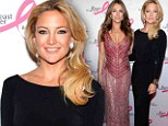 A lesson in style! Classy Kate Hudson shows Elizabeth Hurley that sexy doesn't have to mean bearing all