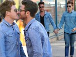 Nate Berkus and new fiance Jeremiah Brent share kisses in NYC