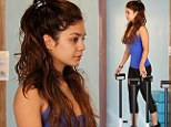 Dedicated! Vanessa Hudgens was spotted back at Pilates class in Los Angeles, California on Wednesday