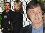 Come Together! Paul McCartney and Ringo Starr enjoy a mini Beatles reunion at dinner