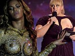 From Beyonce's dazzling tour costume to Rebel Wilson's DIY 'nip-slip', are trompe l'oeil breasts fashion's most daring trend?