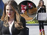 Khloe Kardashian wore brother Rob's socks while shopping for sister Kourtney's present