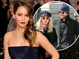 Jealous Jennifer: Recent reports reveal that Jennifer Lawrence (pictured) is 'a little jealous' that Bradley Cooper is spending so much time with his new girlfriend Suki Waterhouse