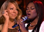 Reduced to tears! Mariah Carey cries on American Idol after Candice Glover sings her hit When You Believe