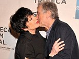 He's like a Raging Bull! Robert De Niro rushes in to kiss Liza Minnelli at Mistaken For Strangers premiere