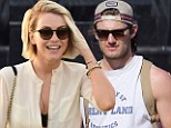 Good times: Julianne Hough seems to have gotten over the breakup blues with a fun-filled trip to Coachella, where she was spotted dancing with Magic Mike actor Alex Pettyfer