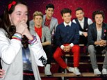 They're NOT REAL, girls! One Direction fans are overcome with emotion as they meet the band's waxwork doubles