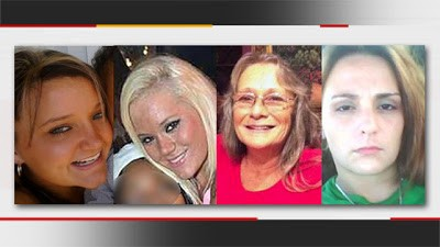 Rebeika Powell and Kayetie Powell-Melchor; and Julie Jackson and Misty Nunley