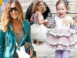 Sex And The City revisited! Sarah Jessica Parker says her twins 'pick out their own clothes' as three-year-old Loretta has Carrie moment in tutu