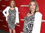 She's blossoming! My Girl's Anna Chlumsky dresses her growing baby bump in clingy frock for Orphans Broadway opening