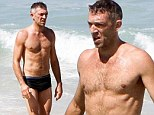Vincent Cassel hit's the beach in Rio