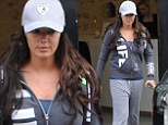Even heiresses can do casual: Tamara Ecclestone dresses down for a trip to the spa in a £150 tracksuit