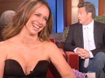 'It's a bit wowsers!' Jennifer Love Hewitt shocks Matthew Perry with cleavage-baring dress on The Ellen Show