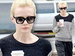 Carey Mulligan shows off her low-key style by going make-up free as she steps out on coffee run