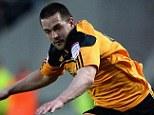 Hull's Matt Fryatt tussles with Liam Kelly of Bristol City