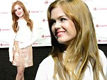 Isla Fisher, 37, looks more youthful than ever as she turns on the charm in flirty mini skirt at CinemaCon
