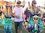 Can't get enough! Paris Hilton and boyfriend River Viiperi head to Coachella for a second weekend at the popular music festival