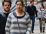 Party for two! America Ferrera celebrates her 29th birthday in low key fashion as she enjoys romantic stroll with husband Ryan