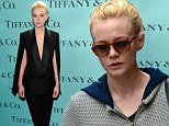 Daisy Buchanan would be impressed! Carey Mulligan goes from drab to fab in sexy suit at Tiffany Ball