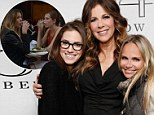Different set of 'Girls': Allison Williams joins Kristin Chenoweth to support Rita Wilson backstage at her first concert