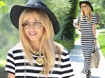Smiling through it all! Rachel Zoe puts on a good face despite rumours of her Bravo show being cancelled