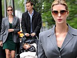 No bump here! Ivanka Trump conceals her newly announced pregnant belly while out in NYC