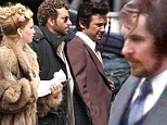 Christian Bale and Jennifer Lawrence's American Hustle set shut down amid Boston manhunt
