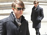 First look: Dane Dehaan on set of The Amazing Spider-Man 2 in New York, on Sunday