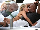Summer loving! Sweet Valley High star Brittany Daniel and Keenen Ivory Wayans turn up the heat poolside in Miami