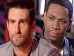 Adam Levine sympathised with Vedo on Monday's episode of The Voice