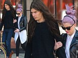 Kelly Osbourne and fiance Matthew Mosshart leaving The Bowery Hotel in New York City