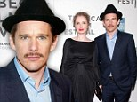 Ethan Hawke was on the red carpet for the Before Midnight screening on Monday