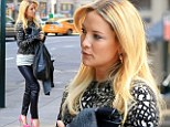 There is no way you would loose a guy in those! Kate Hudson shows off her slender legs in sexy tight leather pants