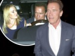 Arnold Schwarzenegger moves on from estranged wife as he wines and dines new flame Heather Milligan...and her father and sister