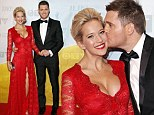 All eyes on her! Michael Bublé's pregnant wife Luisana Lopilato looks ravishing in floor length gown at JUNO Awards
