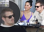 Olivia Munn-ch does lunch with Robocop boyfriend Joel Kinnaman as he puffs on e-cigarette at non-smoking LA restaurant