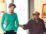 Who is that woman? Danny DeVito was spotted with a mystery woman at a sushi restaurant in Bel Air on Monday