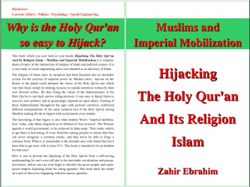 Click to Download PDF: Hijacking the Holy Qur'an and Islam 1st Print Edition 2013