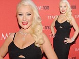 Singer-songwriter Christina Aguilera attends the 2013 Time 100 Gala at Frederick P. Rose Hall, Jazz at Lincoln Center in New York City