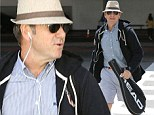 Kevin arrives in LA ready for some tennis
