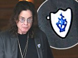 Prince of arts and crafts: It is not known how Ozzy Osbourne got his Blue Peter badge, but they can be awarded for sending the show a nice drawing