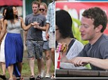 The 28-year-old Facebook founder has been pictured enjoying a low key vacation with his Harvard-educated doctor wife, Priscilla Chan, in Kauai on their latest vacation to Hawaii.