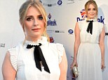 Frill seeker: Mischa Barton gets it right in a demure ruffled cream dress as she leads stars at BritWeek Festival launch