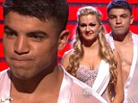 It's a knockout! Boxing champ Victor Ortiz is given the hook on Dancing With The Stars